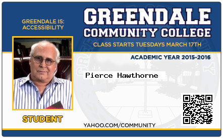 Pierce Hawthorne school ID